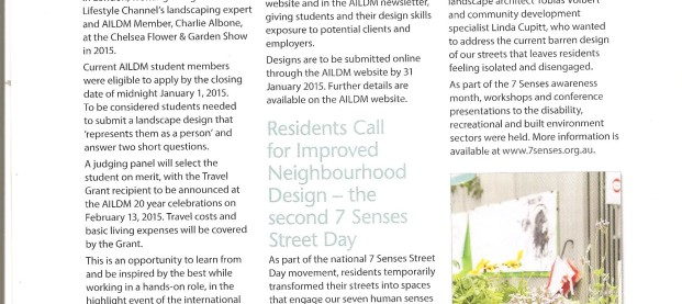 7 Senses featured in NGINA (Nursery & Garden Industry NSW ACT) Magazine